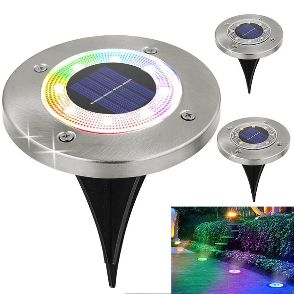 LED Solar Pathway Garden Light