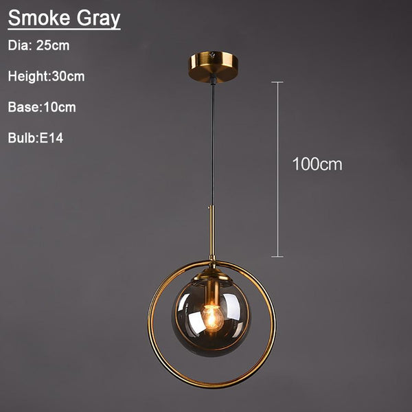 Silvana - Modern Ring Pendant Light
