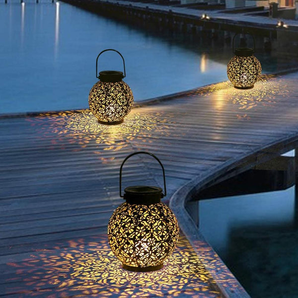 Imane - Outdoor Shadow Cast Lantern