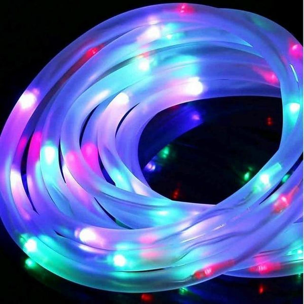LED Solar Tube String Garden Lights