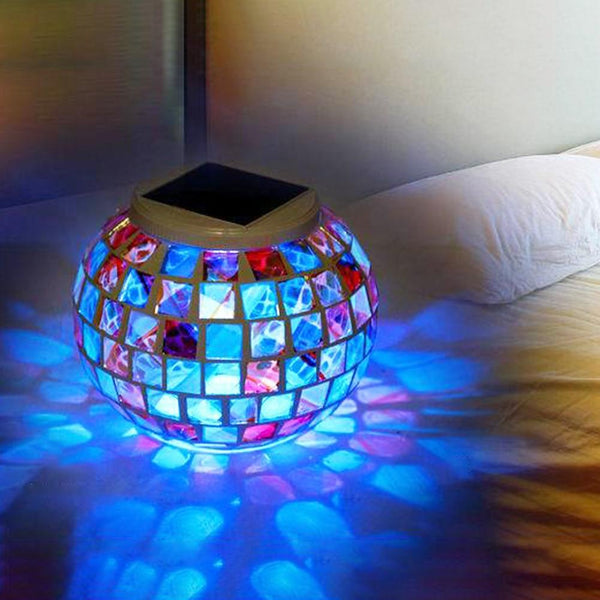 Mosaic LED Garden Light