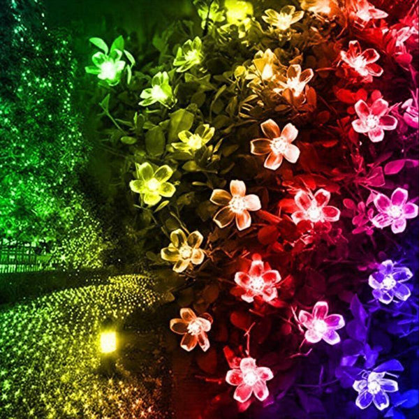 LED String Cherry Blossom Flowers
