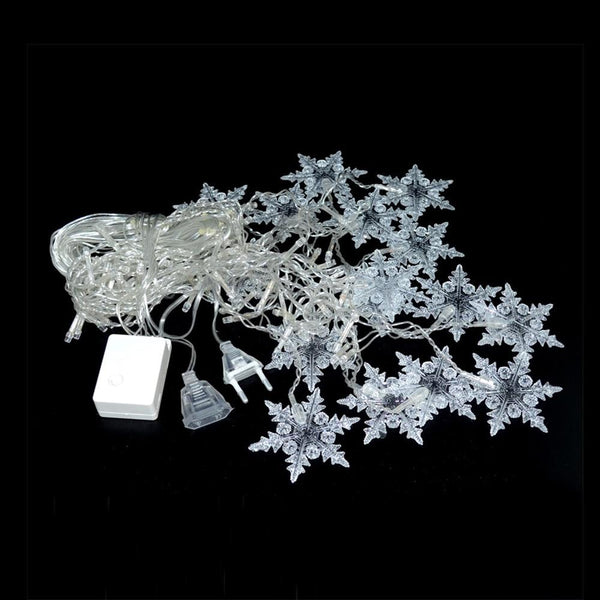 Snowflake Hanging LED Lights