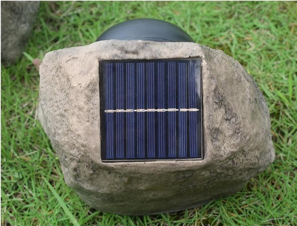 Stone Outdoor Solar Light