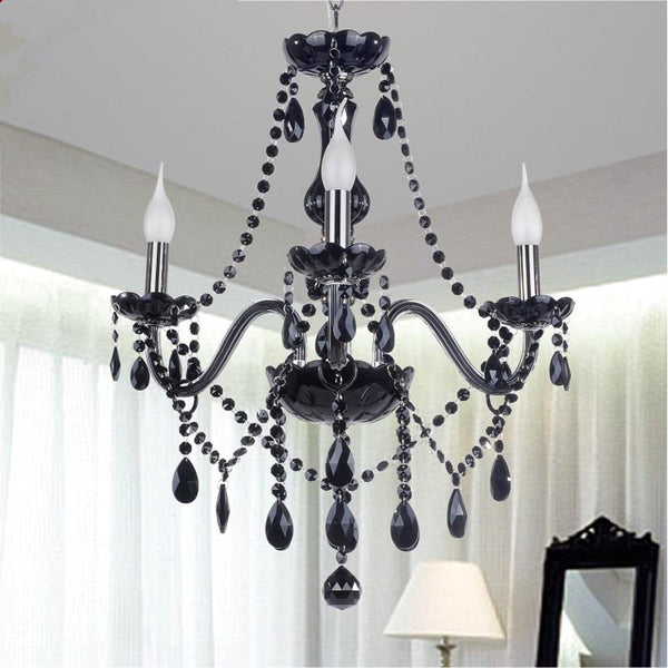 Modern Retro Drop Crystal Chandelier