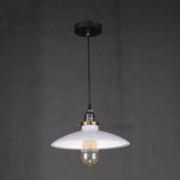 Zelus - Vintage Retro Metal Shade Hanging Lamp