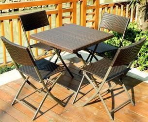 Andalu - Outdoor Wicker Table & Chairs