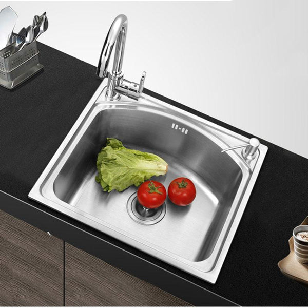 Quintino - Single Basin Stainless Steel Sink