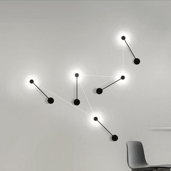 Cyrus - Minimalist Circular Art Deco LED Wall Lamp