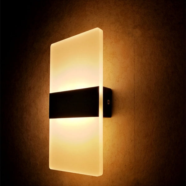 Modern Strip Acrylic LED Wall Lamp