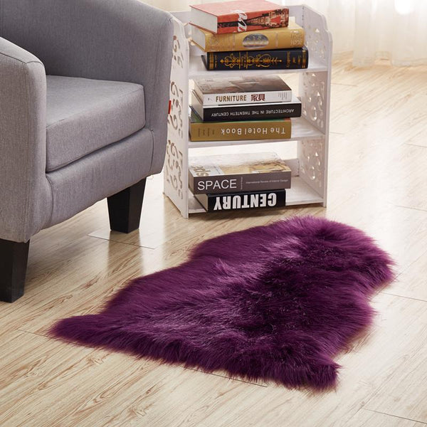 Imitation Sheepskin Shaggy Wool Rug