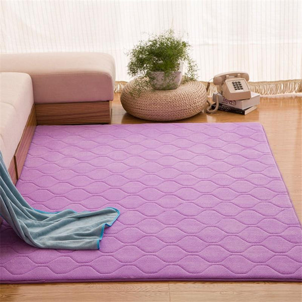 Classic Quilted Memory Foam Rug