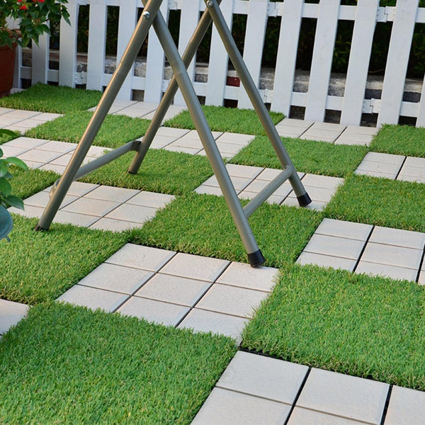Grassly - Interlocking Artificial Grass Turf