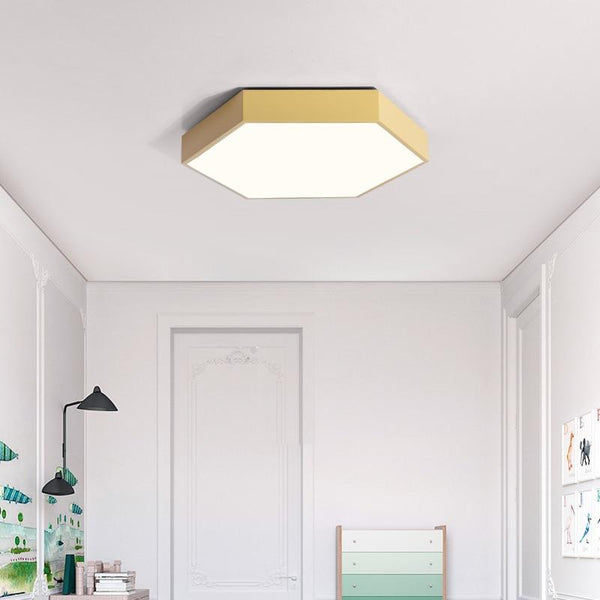Ulti - Modern LED Hexagon Ceiling Light