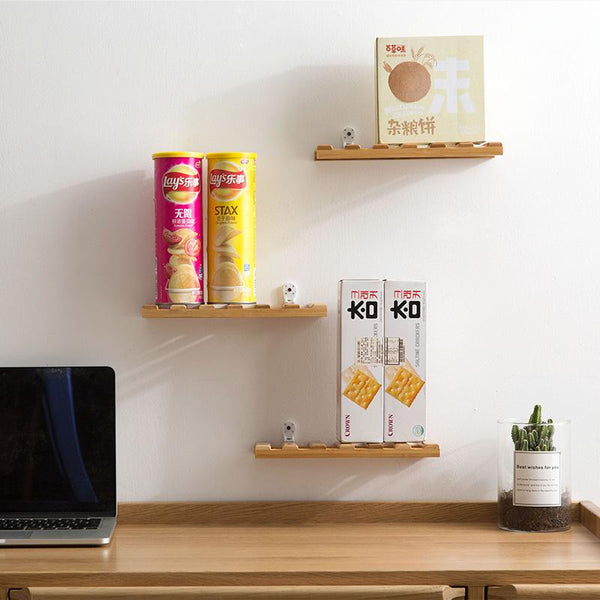 Quis - Bamboo Plank Shelf
