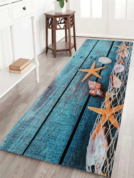 Anti-Slip Rectangular Rug