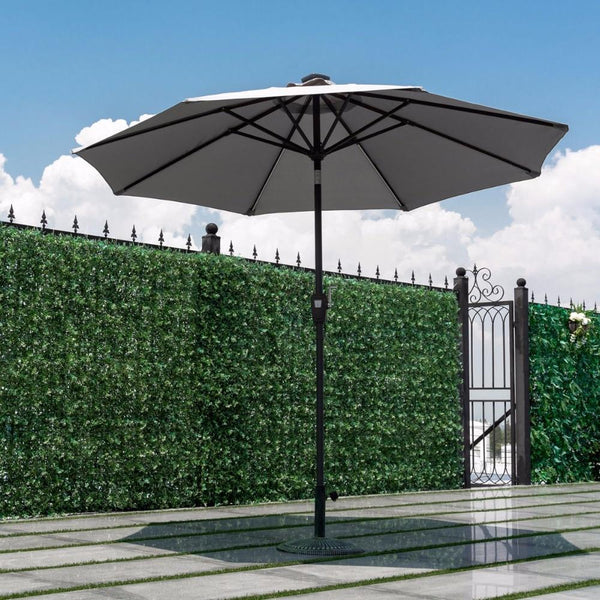 Tulio - LED Solar Patio Umbrella