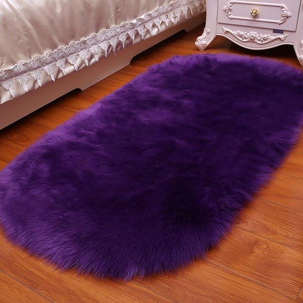 Charon - Faux Sheepskin Fluffy Rug