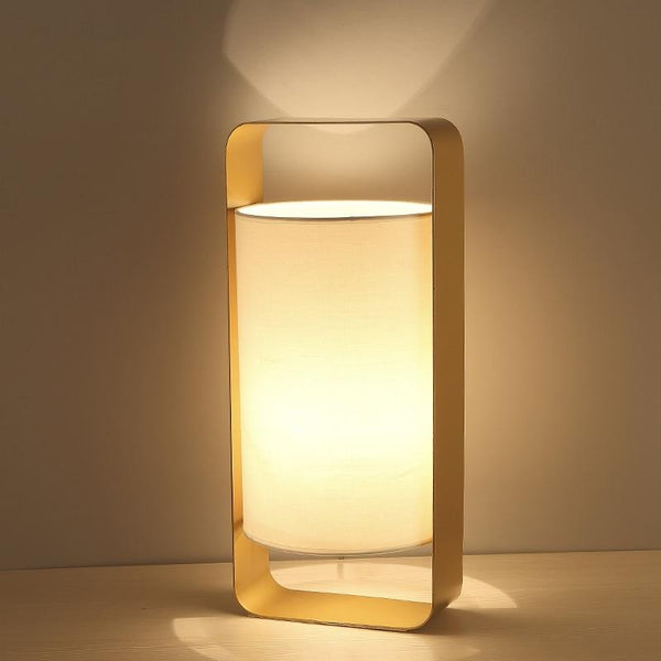 Nate - Modern Frame Floating Lantern Desk Lamp