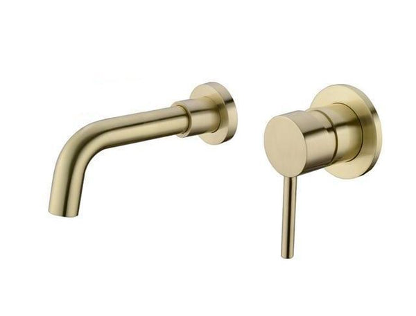 Modern Brass Wall Mounted Faucet