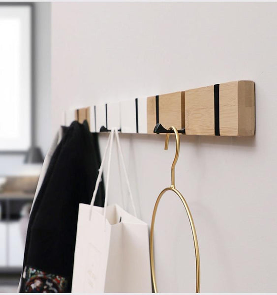 Prae - Retractable Hook Coat Rack