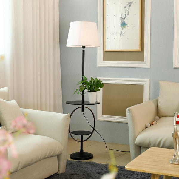 Canary - Modern Shelf & Floor Lamp