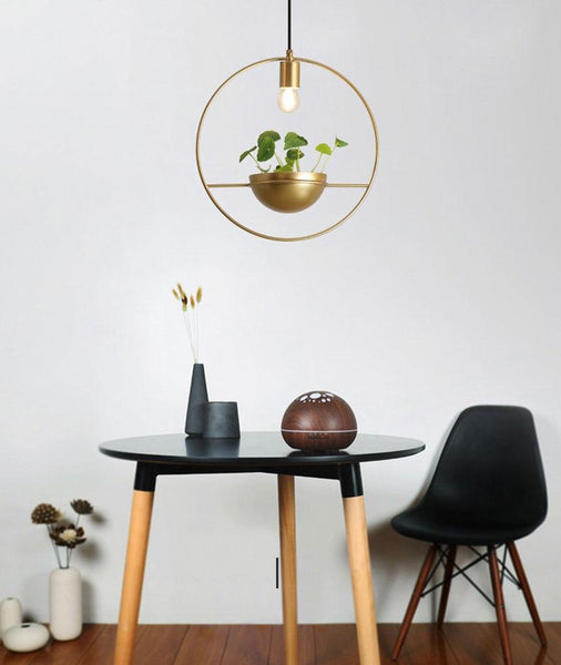 Althea - Modern Nordic Planter Lamp