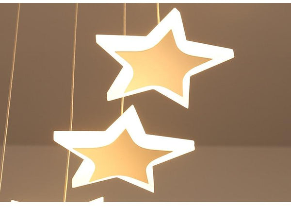 Starlight - Hanging Star Chandelier