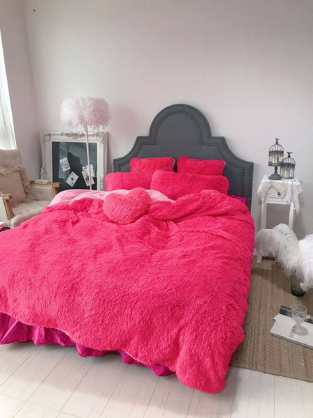 Astrid - Luxury Fleece Bed Set