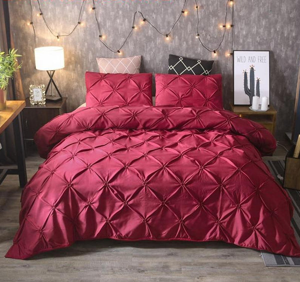 Leonie - Luxury Pinch Duvet Cover