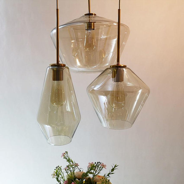 Meriall - Hanging Glass Pendant Lamp