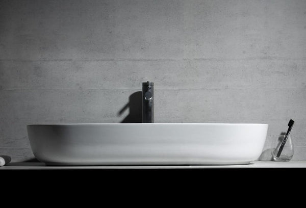 Rene - Modern Rounded Bathroom Sink
