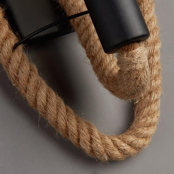 Clove - Round Rope Wrap Wall Lamp