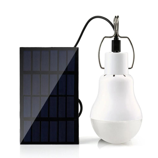 Portable Outdoor Solar Power LED Light Bulb