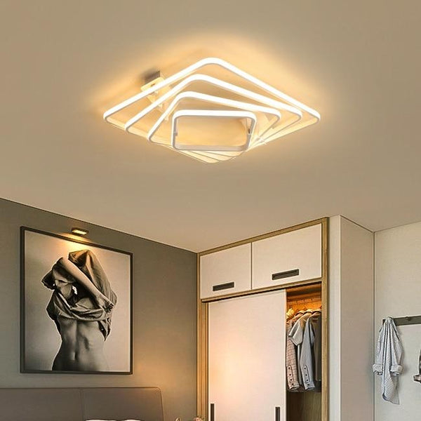 Dilan - Modern LED Twist Layer Ceiling Light