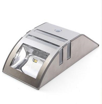 Outdoor Motion Sensor Solar Wall Lamp