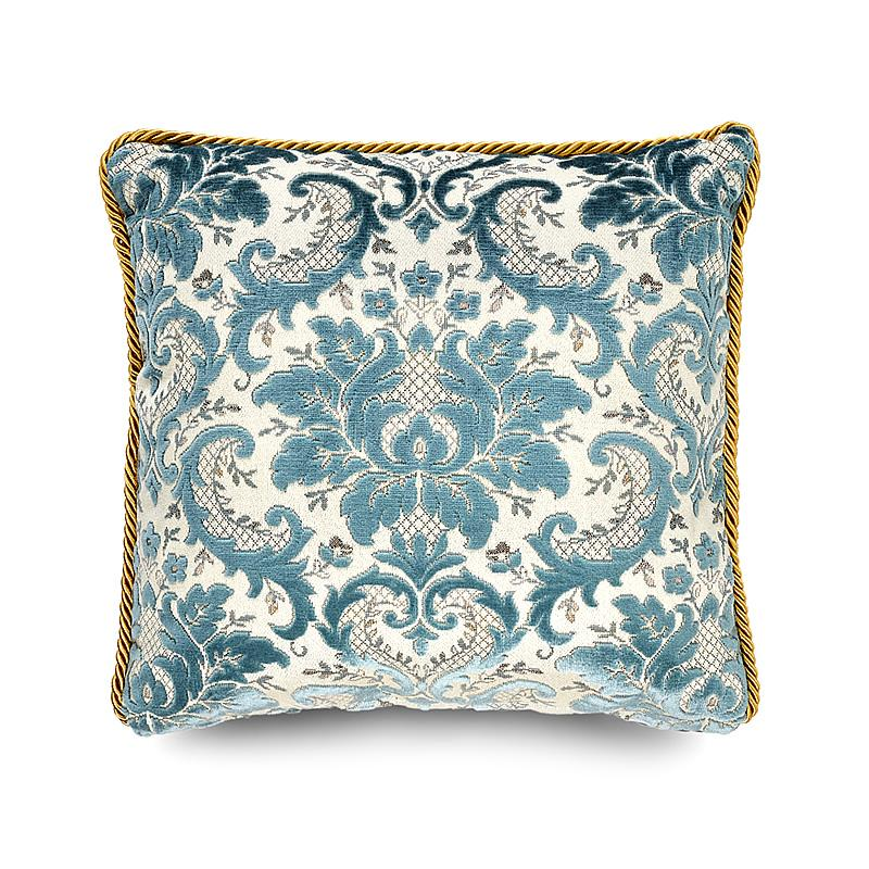 Luxury Pillow, Vintage Blue, 50 cm