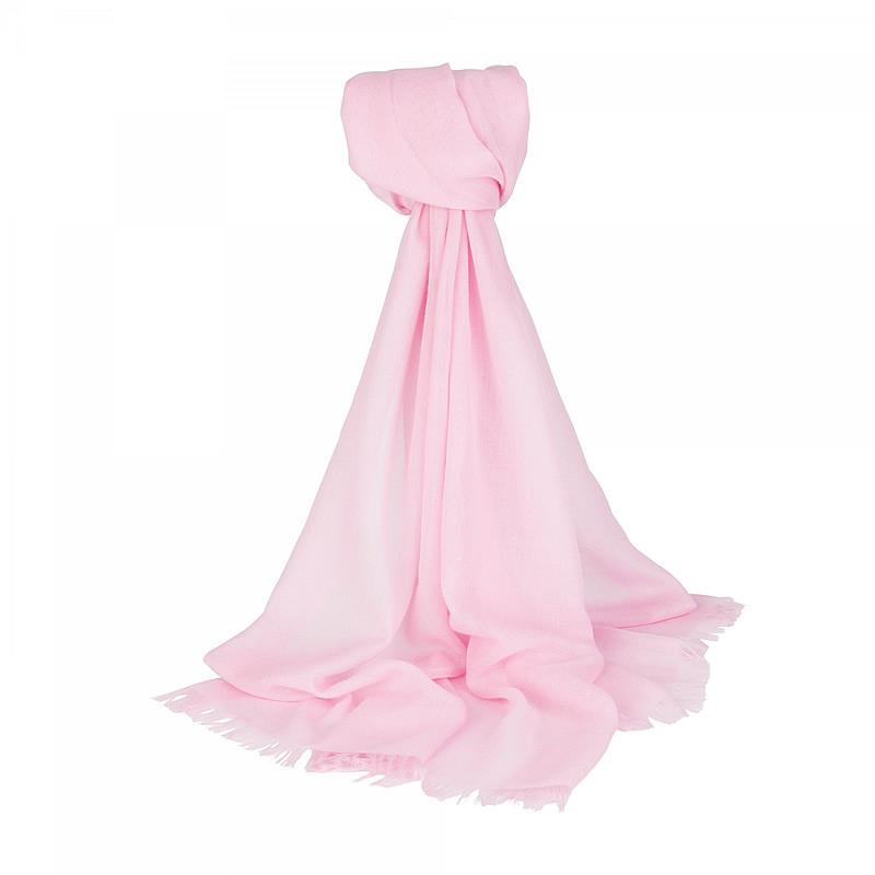 Light Cashmere Scarf in Pink