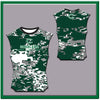 Cuero CNS kelly green CAMO Compression Sleeveless