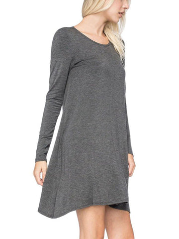 Long Sleeve Dress - Fionana