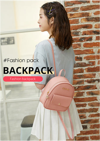Mini Backpack Shoulder Bag - Fionana