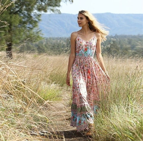 Casual Boho Dress - Fionana