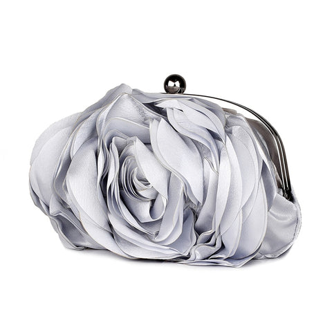 Vintage Ladies Floral Evening Bag - Fionana