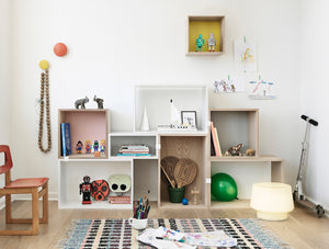 High/Low: Stacked Shelving System, Muuto vs