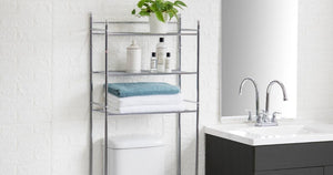 Bathroom Storage Shelves Only $19.84 on Walmart.com | Easy Assembly