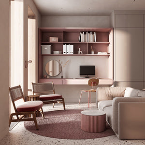 Here is the best place for you to find the greatest pink home ideas.  Here we present to you house tours to each room in a pink with monochrome color in  Pink Home Ideas To Give A Penchant Stylish Touch.