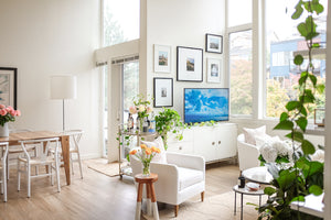 There's just something about a space with lots of windows that's light, bright, and airy