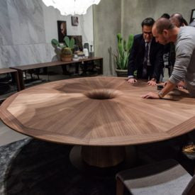 Durable and dark with a distinctive, unique grain pattern — these are a couple of the characteristics that make walnut one of the most prized woods for furniture making