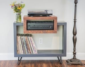 Nice Record Player Stand