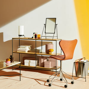 Dezeen promotion: modern design meets function in our latest competition, where Dezeen has partnered with Danish furniture brand Fritz Hansen to give away a shelving unit from its Planner collection.
